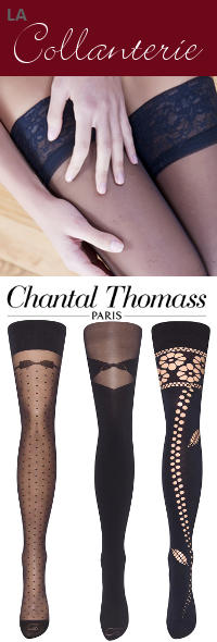 bas et collant chantal thomass et le bourget -Organza lingerie 85160